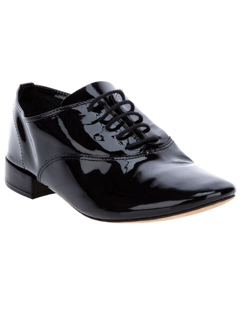 Black Patent Zizi Oxfords