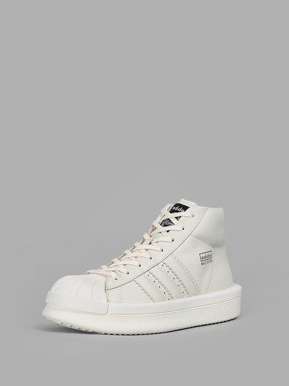 hi-top sneakers - White Rick Owens FxbMplS4Uy
