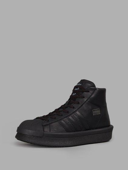 Black adidas Originals Edition Mastodon Sneakers Rick Owens mOE2vJd