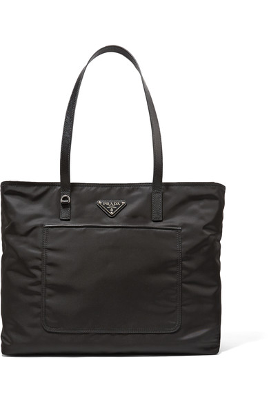 Vela Leather-Trimmed Shell Tote, Eero