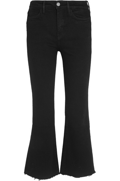 Mih Jeans Lou Jean Customised By Lily Ashley - Black