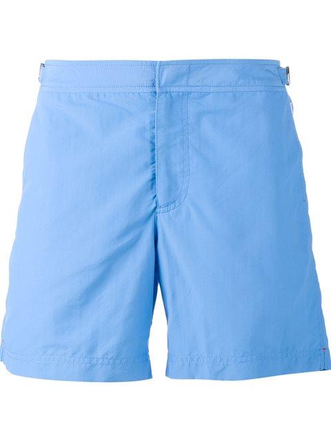 ORLEBAR BROWN Setter Short Length Swimming Shorts in Blue
