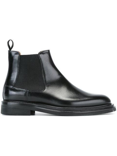 Monmouth Leather Chelsea Boots, Black