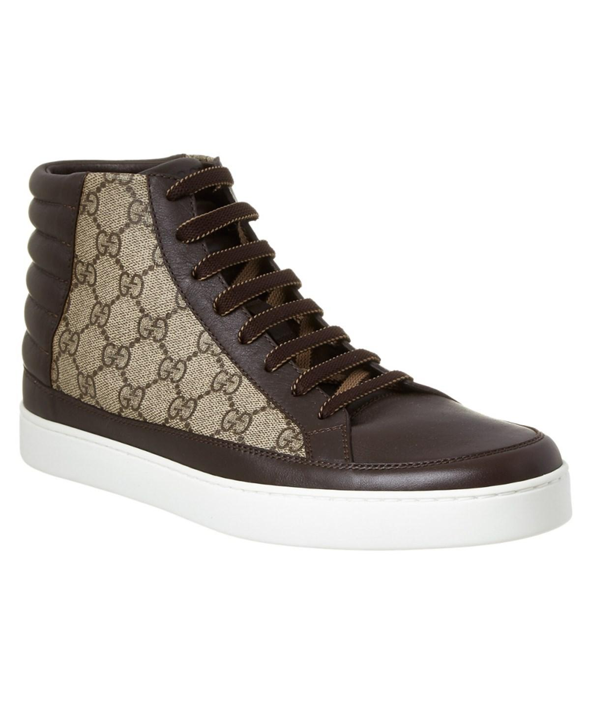 4e05f7bf1046 Gucci Mens High Top Trainers