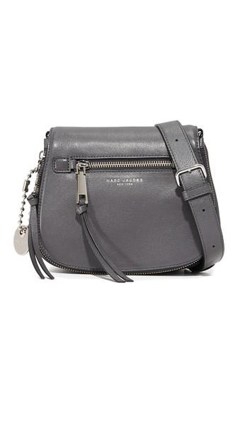 Recruit Small Saddle Bag, Gray