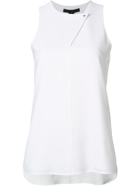 Alexander Wang Shirt Tail Tank Top - White