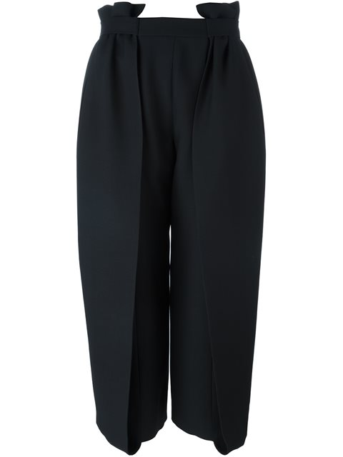 Fendi Paper Bag Waist Trousers - Black