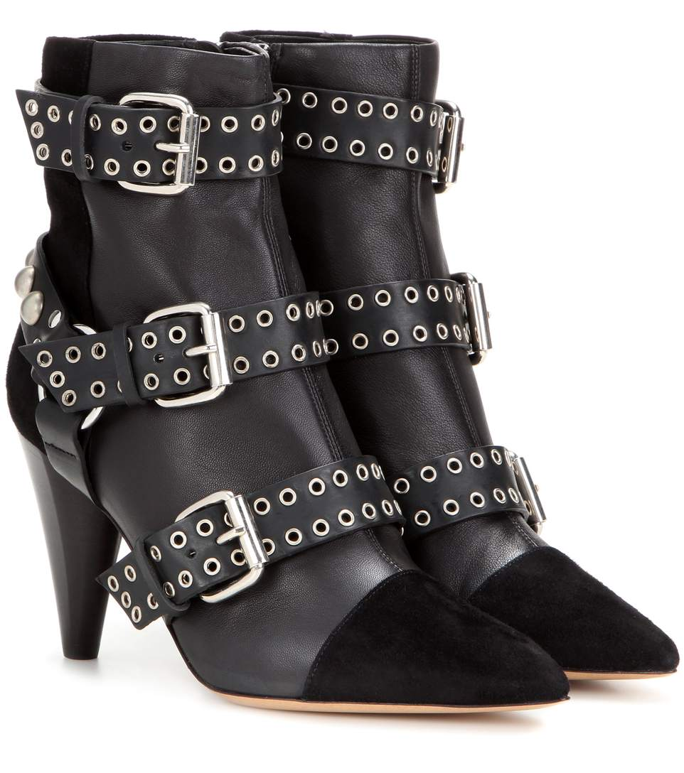 Discount Genuine Isabel Marant Buckled Boots Top Quality Free Shipping Shopping Online yIP3FD2U