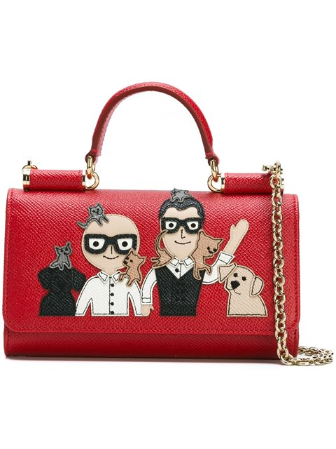Dolce   Gabbana Mini  Von  Wallet Crossbody Bag  7d2664de89792