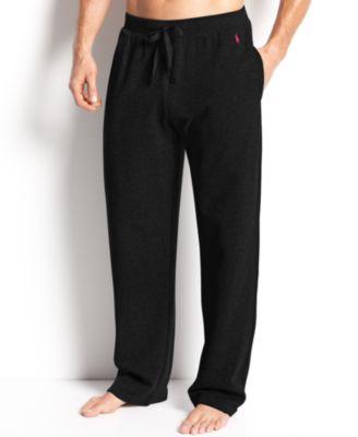POLO RALPH LAUREN Men'S Ultra-Soft Pima Cotton Supreme Comfort Knit Pajama Pants in Polo Black