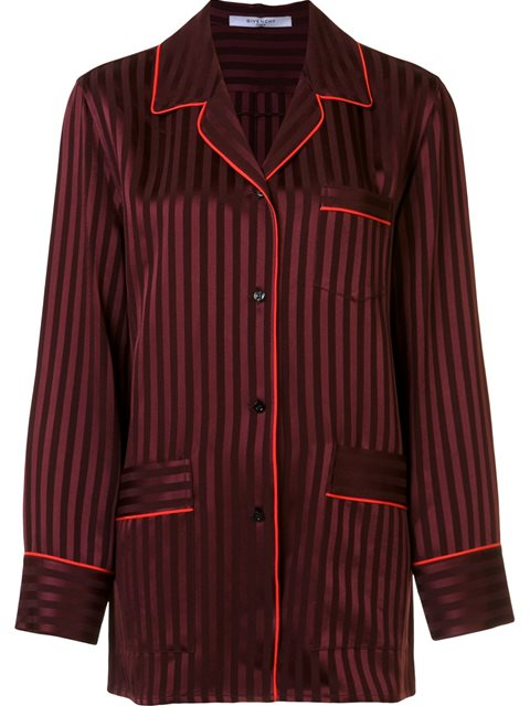 GIVENCHY Striped Relaxed Shirt