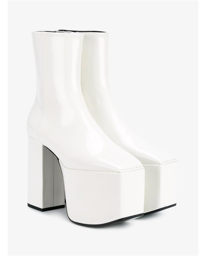 BALENCIAGA Candy Leather Platform Boots