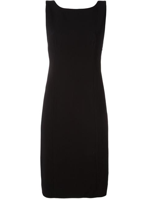 CAPUCCI Capucci Back Bow Detail Dress - Black