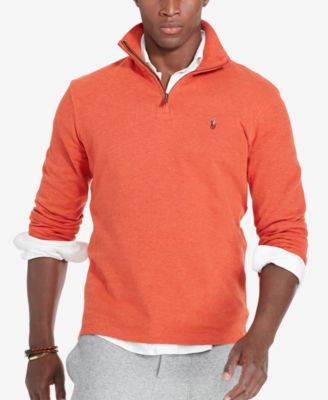 POLO RALPH LAUREN Estate Rib Cotton Pullover Sweater in Varsity ...
