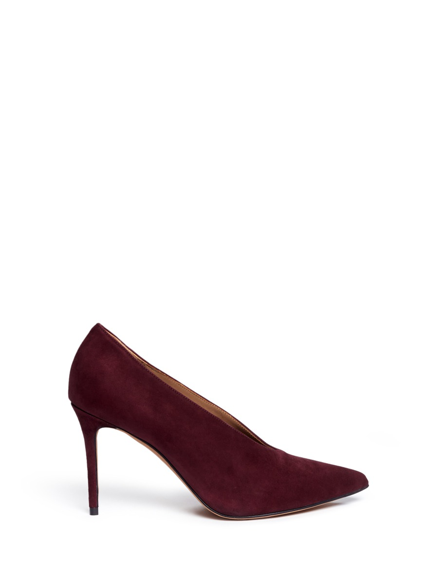 Vince Portia Suede Pumps Clearance Largest Supplier cA2nsFYtUz