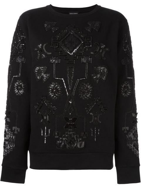 Triangular Sweatshirt in Black