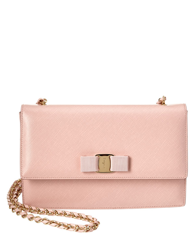56b1c6161af0 SALVATORE FERRAGAMO  Ginny  Crossbody Bag