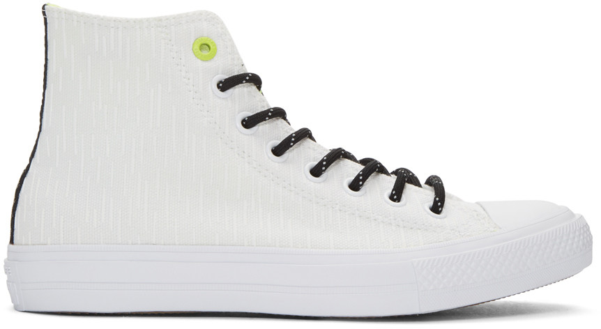 235a7ecb3f9ee CONVERSE White Reflective Chuck Taylor All Star Ii High-Top Sneakers ...