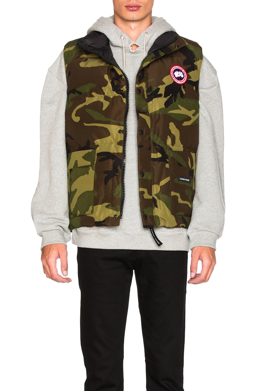 buy canada goose vest online