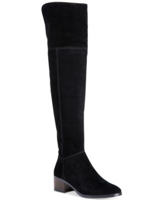Buy Cheap Footlocker Finishline Sale Low Shipping Fee Coach Suede Knee-High Boots Cheap Original Online Cheapest  Amazing Price For Sale Dbcf1Tb13