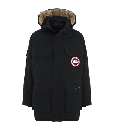 CANADA GOOSE Navy Citadel Parka in Forest Green