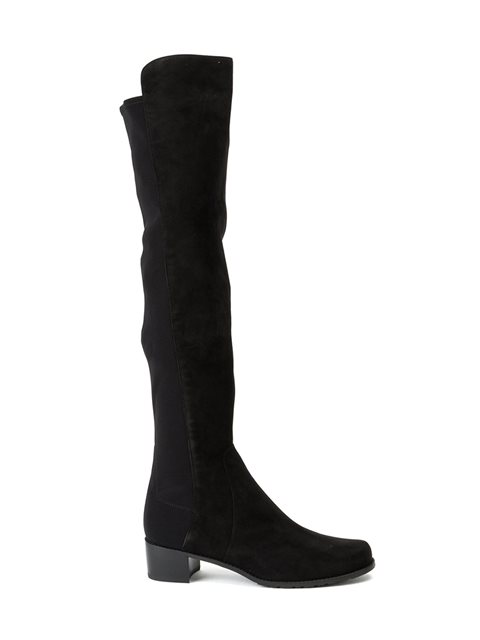 Reserve Knee High Boots, Black