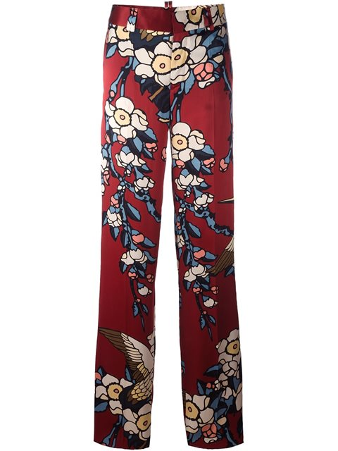 Casual Pants, Red