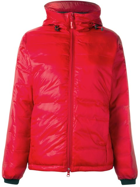 Camp Hoody Jacket in Red