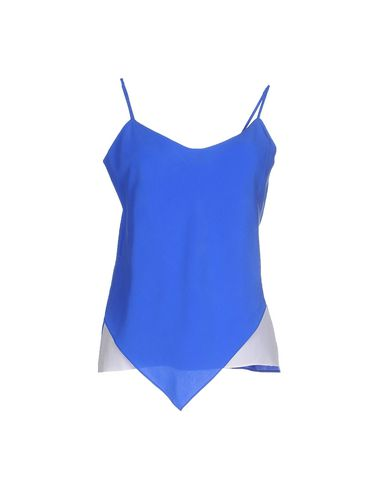 BAND OF OUTSIDERS Silk Top in Bright Blue