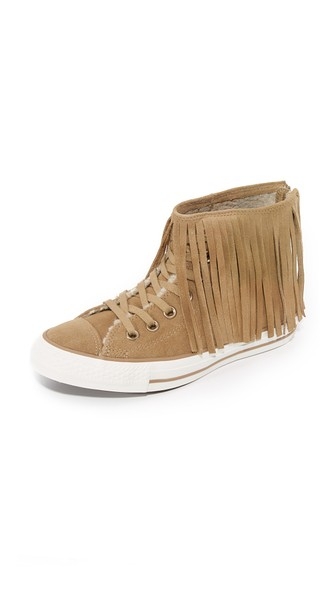 95e1f564876ce1 CONVERSE Women S Chuck Taylor All Star Fringe High Top Sneakers ...