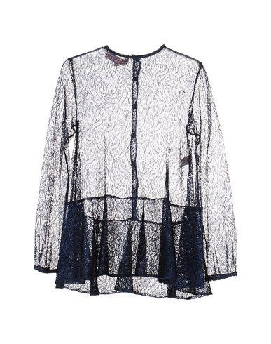 ANNA SAMMARONE Lace Shirts & Blouses in Dark Blue