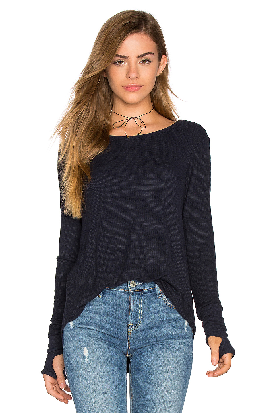 Arca Top in Navy Feel The Piece Best Place To Buy With Credit Card Cheap Online Ebay Cheap Price Clearance Cheap Real Best Seller Cheap Online ahF7HHzc
