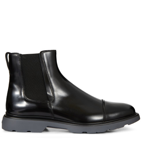 Hogan Beatles En Cuir Brillant Bottes MS7Qst2t