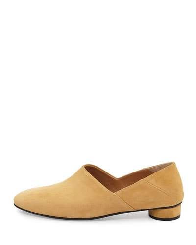 Noelle suede slippers The Row BsAKV