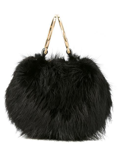Salvatore Ferragamo Fur Shoulder Bag  78890926c55e4
