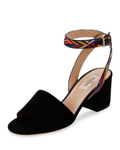 Valentino Suede sandals xzKetg9ZdU