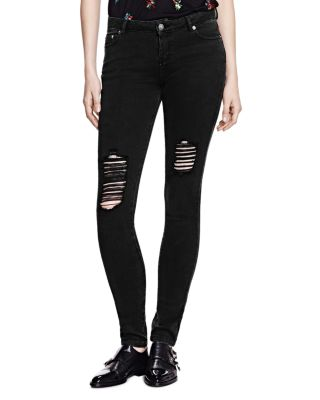 Distressed Billy Jeans In Anthracite