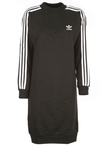 Women'S Originals 3-Stripes Dress, Black