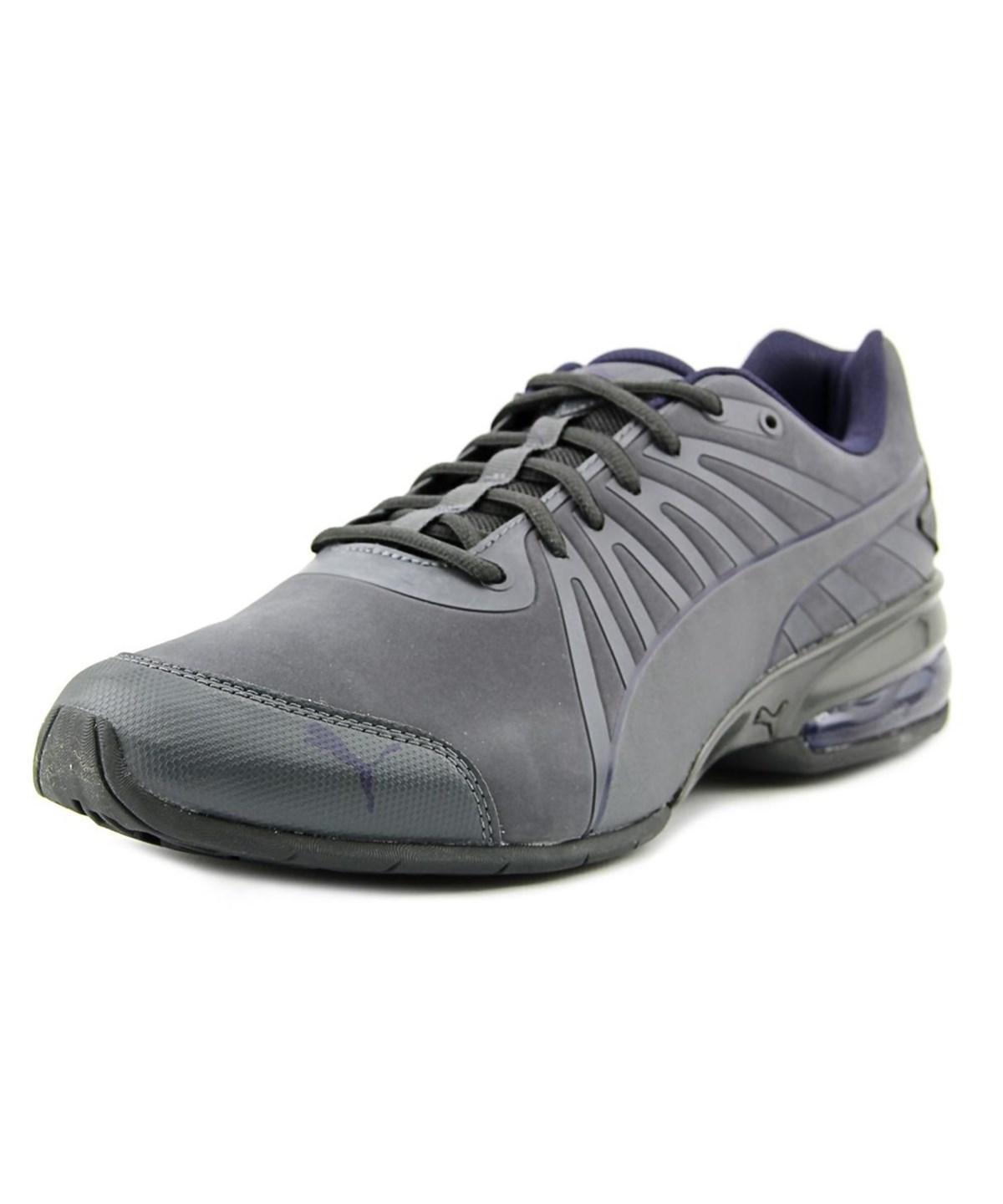 Puma Cell Kilter Men Round Toe Leather Gray Sneakers  In Grey  7f82ca0d7