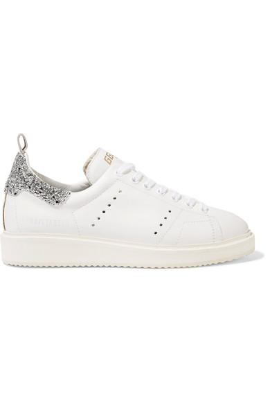 Oie D'or De Luxe Marque Chaussures De Sport « Starter » - Blanc T6OHi5fA