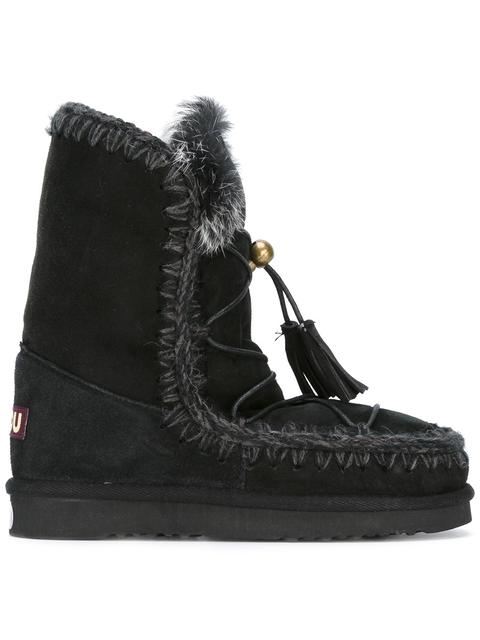 Mou 'Eskimo Dream Lace' Boots - Black