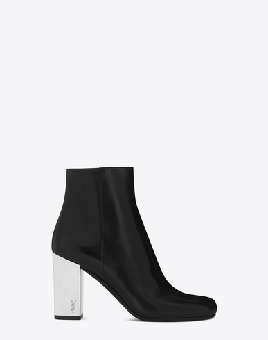 Sneakernews Cheap Price With Credit Card Cheap Online white mirror heel 90 leather ankle boots Buy Cheap Prices Clearance Latest TiHP4Gp12L
