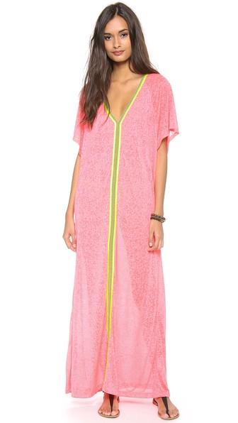 PITUSA Abaya Maxi Dress in Watermelon