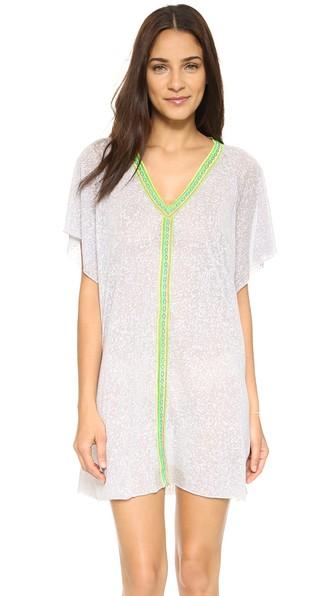 PITUSA Mini Abaya Dress in Grey