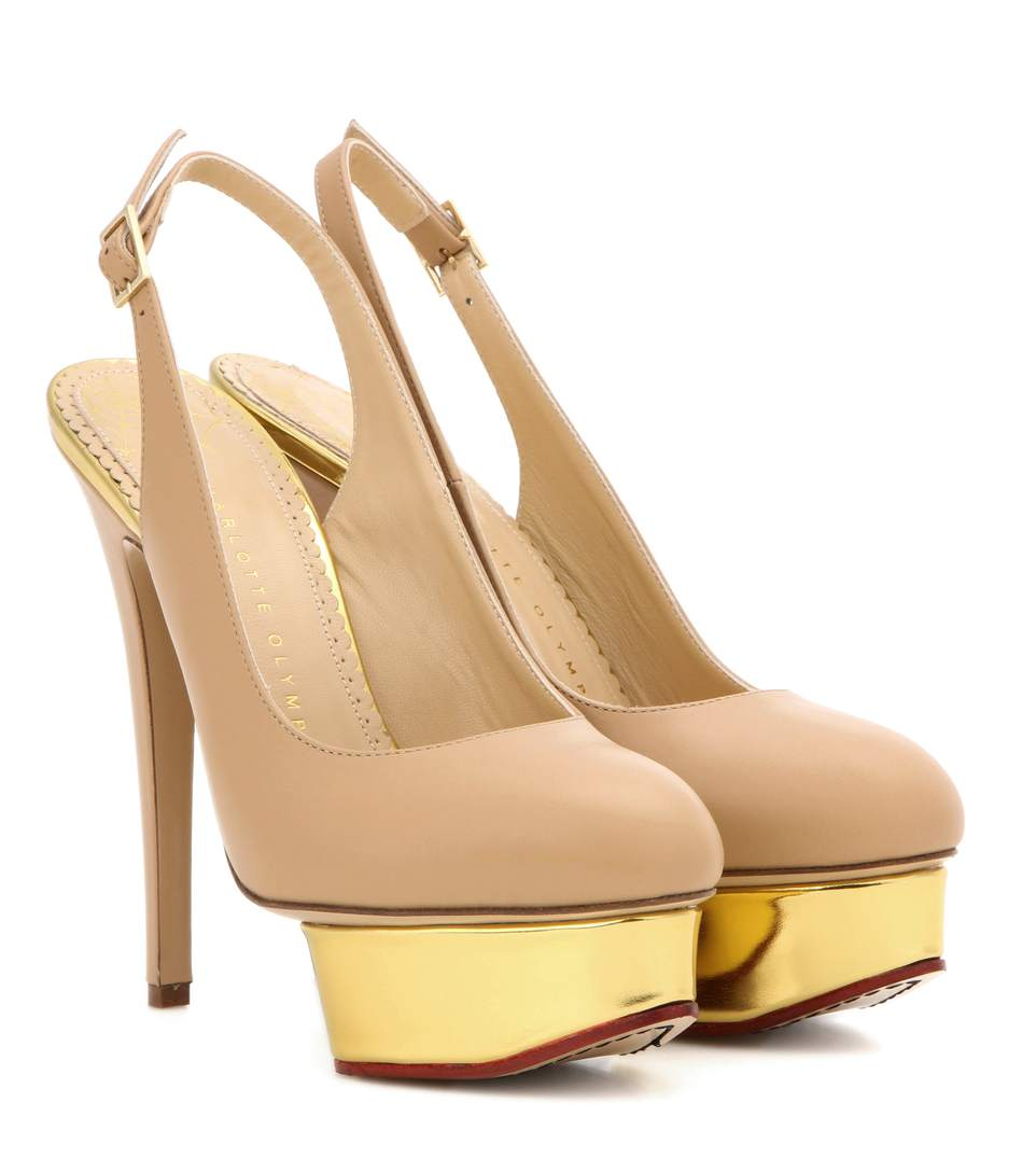 Charlotte Olympia Dolly Slingback Platform Pumps clearance nicekicks choice sale online with mastercard cheap price cheap sale collections low price fee shipping XIVVApW