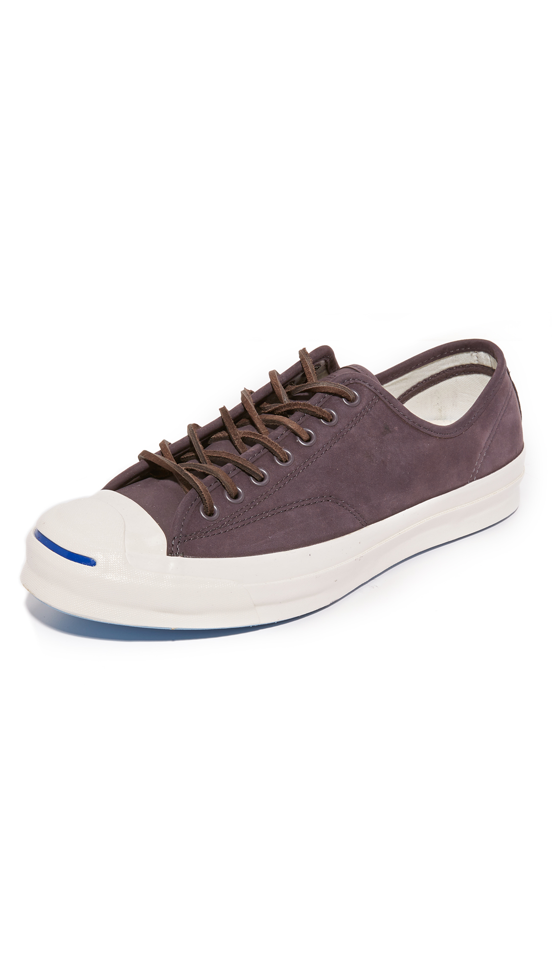 5bc19711f071 ... low price converse jack purcell signature nubuck sneakers dusk grey  dusk grey egret 957ac 11b28