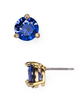 Rise & Shine Small Stud Earrings, Light Sapphire