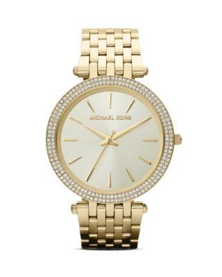 'Darci' Round Bracelet Watch, 39Mm, Gold from 6PM.COM