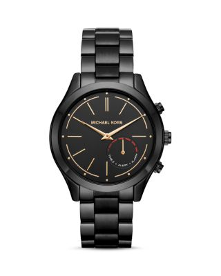 Michael Michael Kors Slim Runway Smart Watch, 42Mm, Black