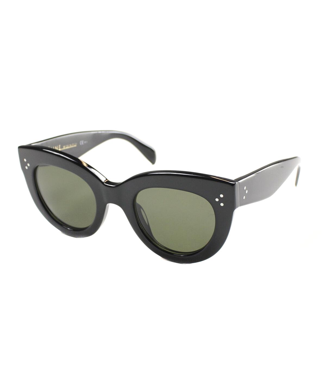 3700c21939f Celine Cat-Eye Plastic Sunglasses In Black